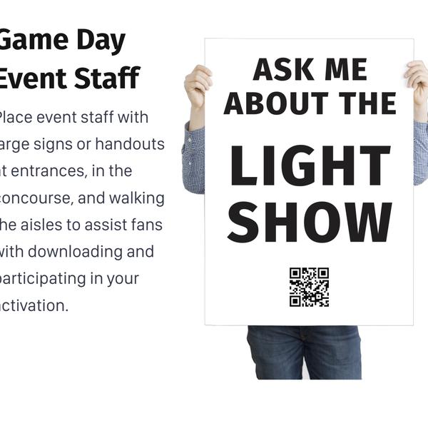 Light show promo